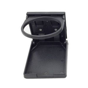 Black Cup Holders Marine RV Boat Yacht Plastic Drink Cup Bottle Can Holder With Insert Drain Hole Universal