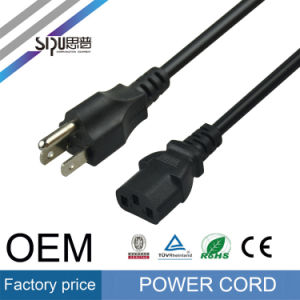 Sipu Plug USA Power Cable for Computer PVC Electric Wire