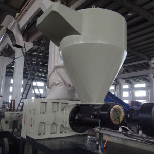 Bottle Flakes Plastic Pelletizing Machine LDPE Pelletizer Extrusion Line for Pet Flakes