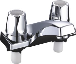 Sink Faucet in ABS With Chrome Finish (JY-1199) pictures & photos