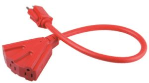Outdoor Triple Tap Extension Cord 06-Ggtp6616 pictures & photos