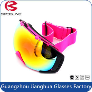 Custom Windproof Anti UV400 Protective Safety Goggles Motorcycle Snowmobile Ski Goggles pictures & photos