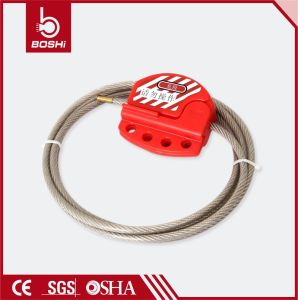 Adjustable Cable Lockout with 1.8 Meter Stainless Steel Cable pictures & photos