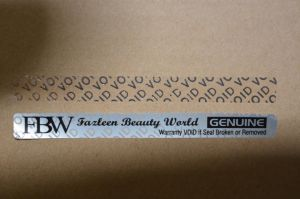 Factory Production of Anti-Counterfeiting Tear Word Void Labels pictures & photos