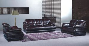 Modern Living Room Sofa with Genuine Leather Sofa Set for Home Furniture pictures & photos