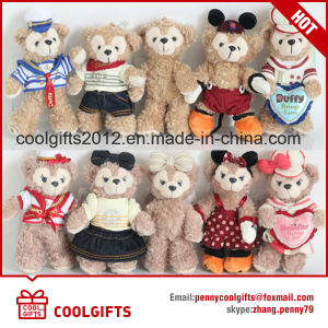 High Quality Soft Plush Bear Pendent Promotion Keychain, Valentine Gift pictures & photos