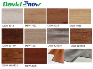 European Hot Sell Vinyl Wood Plank Flooring pictures & photos