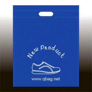 Non-Woven Flat Bag That Spot. Can Printing, Bag