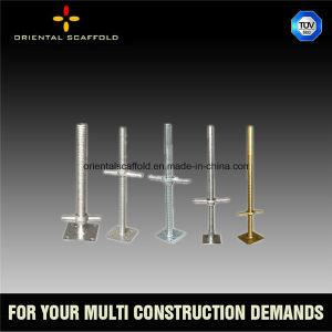 Different Sizes Scaffolding Adjustable Base Jack for Sale pictures & photos