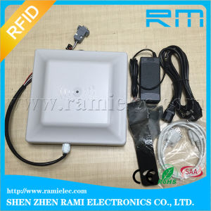 Chip Built-in UHF RFID Reader Tag for Vehicle Wall-Mounted