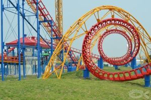 Big Playground Equipment Big Four Rings Roller Coaster pictures & photos