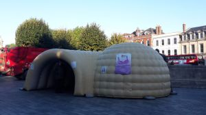 Inflatable Boob Advertising Tent for Sale pictures & photos