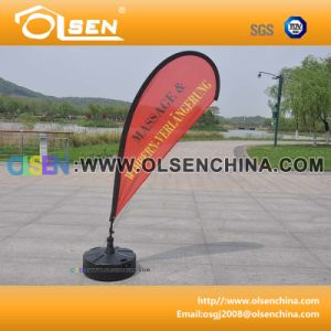 2.8m Aluminum Flagpole for Flag Supporting pictures & photos