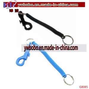 Keyring Spiral Plastic Key Chain Stretchable String Clip Key Holder (G8085) pictures & photos