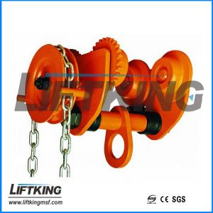 Manual Chain Hoist 1.5 T Geared Trolley pictures & photos