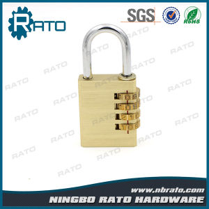 Low Price Waterproof Solid Combination Brass Padlock