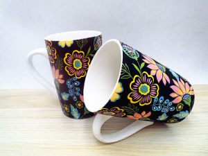 Ceramic Mug with Straight Design pictures & photos
