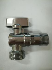 Nickle Plated Angle Valve with Zinc Handle (YD-5033) pictures & photos