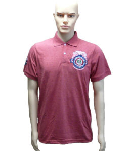 Male Polo Shirt with Embroidery Logo pictures & photos