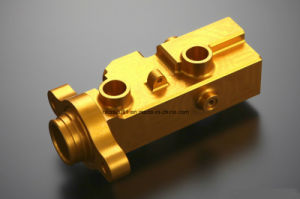 Precision Machining Milling Big Capacity Brake Master Cylinder for Motorcycle pictures & photos