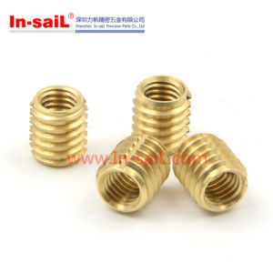 China Factory Brass Thread Insert Nut for Plastic pictures & photos