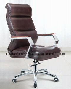 Export Modern Ergonomic Metal Leather Boss Chair In Office