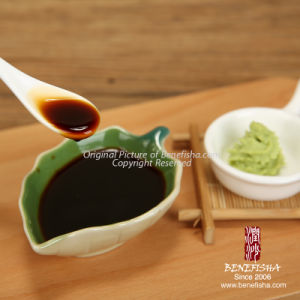 Dark Soy Sauce for Japanese Sushi pictures & photos