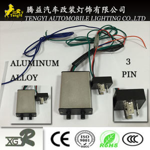 12V LED Bulb Auto Flasher Relay 3 Pin with Alloy
