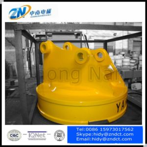 Circular Electromagnetic Lifter Suiting for Excavator Emw5-120L/1 pictures & photos