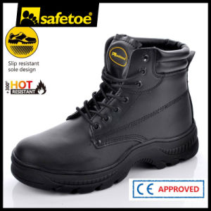 Hot Resistant Work Boots with Steel Toe Cap