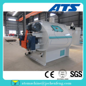 Full Length Discharge Door Feed Mixing Machine for Duck Goose pictures & photos