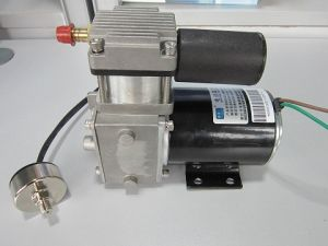 12V/24V Brake Vacuum Pump for Electric Vehicle (EV) / Electric Car, (50W, 40L/min, IP65) Include 2L Bucket, Controller, Relay, Valve