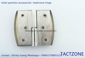 Modern Fashion Waterproof Toilet Cubicle Partition Accessories Hinge pictures & photos