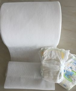 Nano Bond Nonwoven for Baby Diaper/Feminine Hygiene Products/Incontinence Products pictures & photos