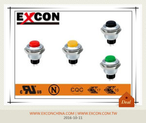 Metal Push Button Switch Pb-01 Excon Pushbutton Switch