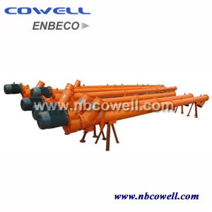 CNC Machine Spiral Screw Conveyor with Motor and Gearbox