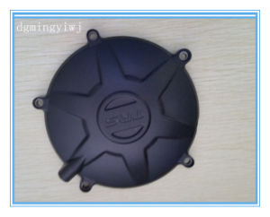 Advanced Equipment for Aluminum Die Castiing Auto Parts with Black Powder Coating Approved by SGS, ISO9001: 2008
