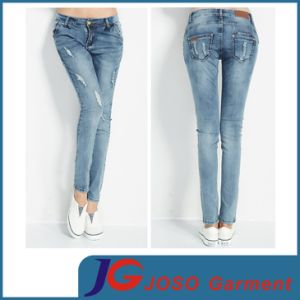 Hot Selling Fashion Ladies Ripped Jean (JC1256) pictures & photos