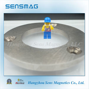 Permanent AlNiCo Big Ring Magnet for Wind Turbine