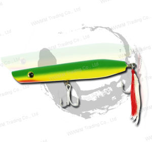 High Grade Fishing Lure, Fishing Tackle--Saltwater Wood Popper (HYT005) pictures & photos