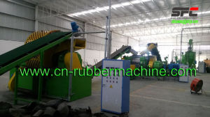Waste Tires Recycling Plant, Tire Powder Making Machine Line pictures & photos