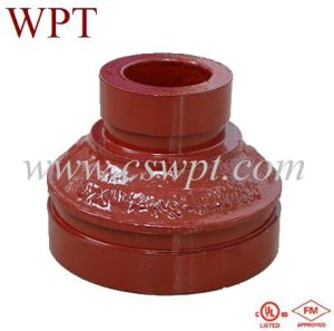 Ductile Cast Iron Grooved Fittings Concentric Reducer Grooved with UL&FM Certificate