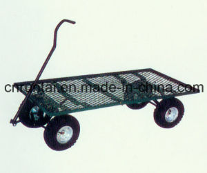 Flatbed Capacious Strong Tool Cart pictures & photos