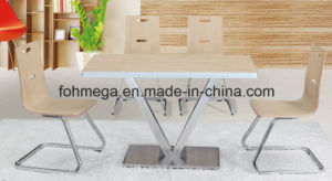 Factory Directly Designer Cafe Table Chair Set (FOH-BC13) pictures & photos