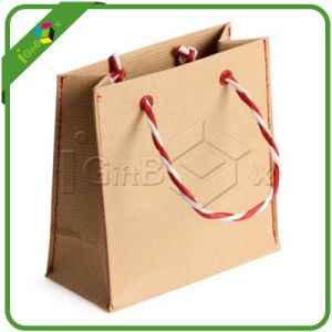 Craft Paper Bags with Handle Wholesale pictures & photos