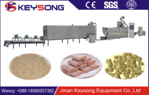 Keysong Tvp Soya Chunks Nuggets Machine pictures & photos