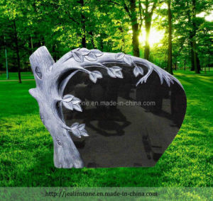 Tree Style Granite Headstone with Antique Color (JE-2012034)