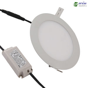 12W LED Round Panel Light with 3 Years Warranty