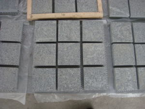Flamed/Honed/Tumbled/Natural Split G603/G654/G682/G664 White/Grey/Black/Yellow/Beige Granite/Basalt/Limestone Cobblestone/Cobble Stone/Cube Stone pictures & photos
