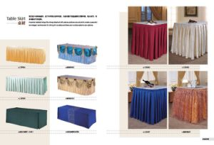 All Kinds of Table Skirt (N000010030, 31, 29, 32, 34, 33, 35, 27, 36, 28) pictures & photos